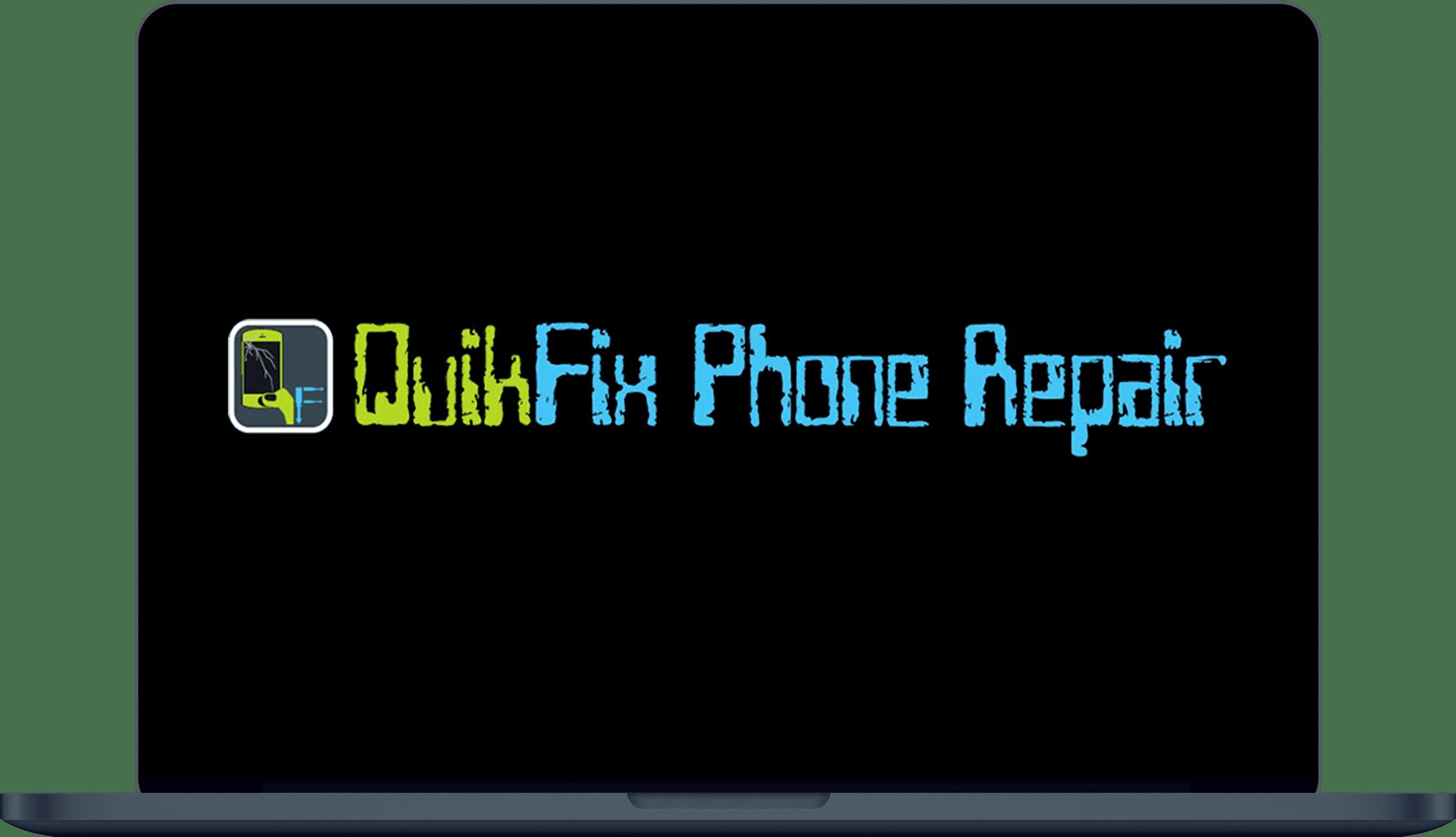 QuikFix Phone Repair Laptop