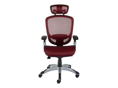 Red Desk Chair Quill Brand Hyken Mesh Computer And Desk Chair Red 50218
