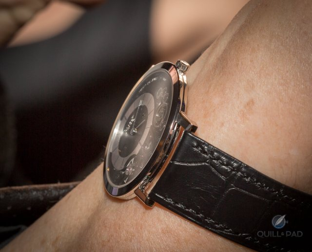 Piaget Altiplano on the wrist