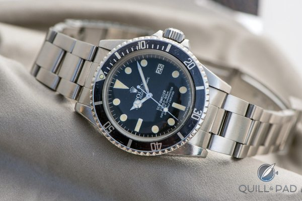 Rolex Sea-dweller Reference 1665 With Rare Rail Dial