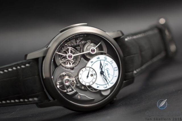 Logical one Black by Romain Gauthier