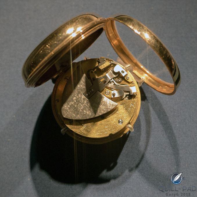 The earliest self-winding watch, ca. 1780
