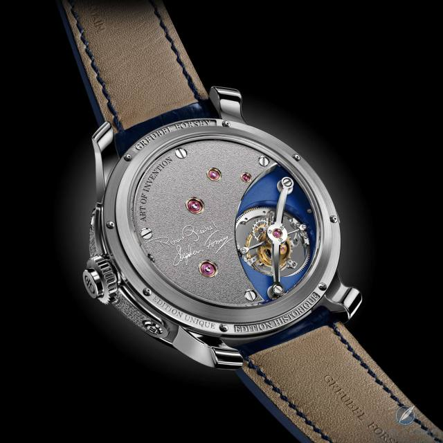 Back of the Greubel Forsey Art Piece Edition Historique