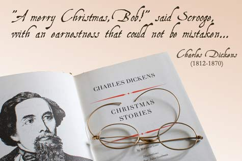 Charles Dickens Christmas Stories - A Quillcards™ Ecard