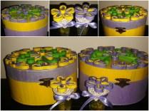 cutii decoratiuni cu mov si galben handmade quillingforyou (19)_Fotor_Collage