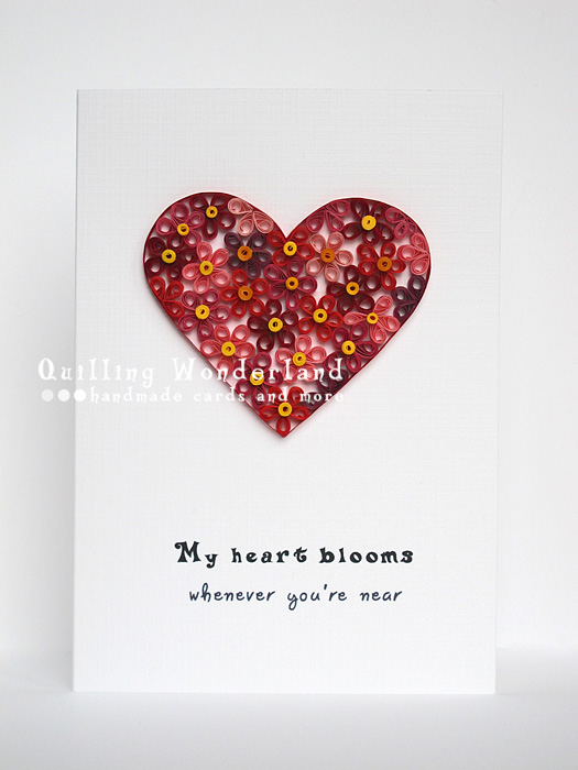 My heats blooms wherever youre near