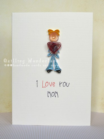 love you MOM Mothers Day Card
