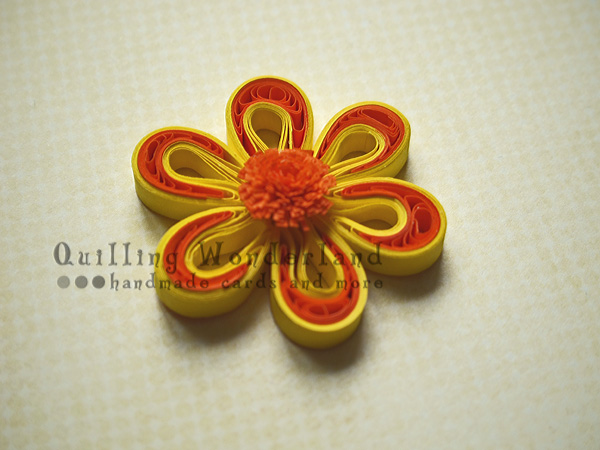 Quilling Flower Tutorial How To Make A Two Tone Flower
