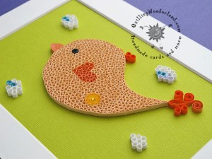 Johnny the Bird - Nursery art
