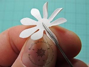 simple paper flower tutorial