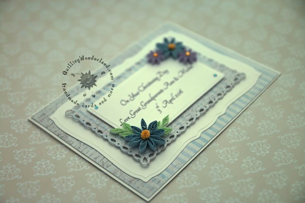 Christening Day Handmade Card