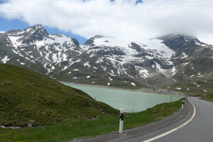 Bernina Pass.