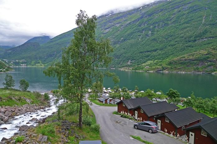 Grande Hytteutleige og Camping. Geiranger
