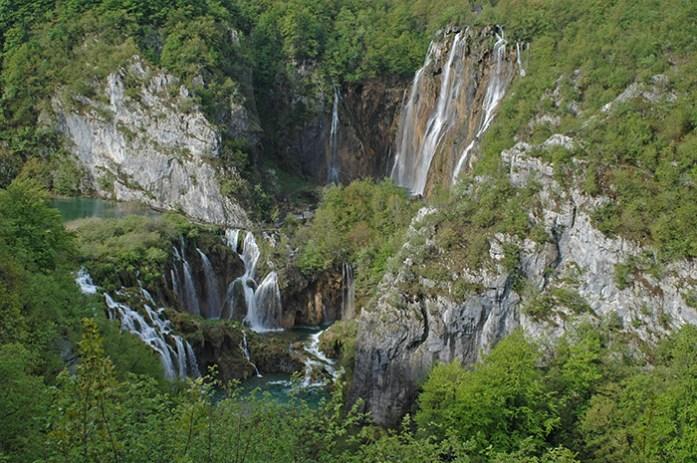 Parque Nacional dos Lagos Plitvice.