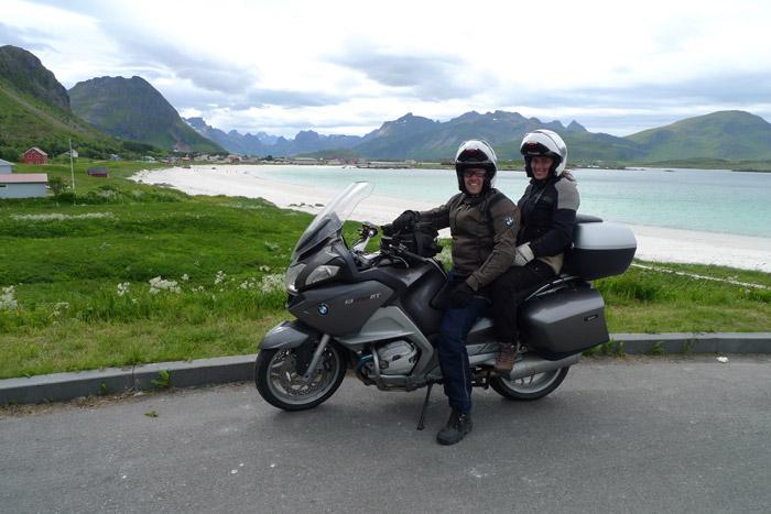 Ilhas Lofoten, Noruega. Viagem de Mota