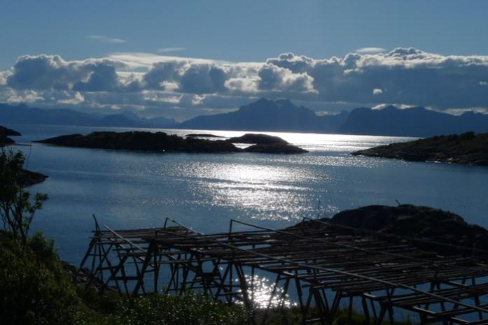 A caminho de Henningsvaer. Ilhas Lofoten