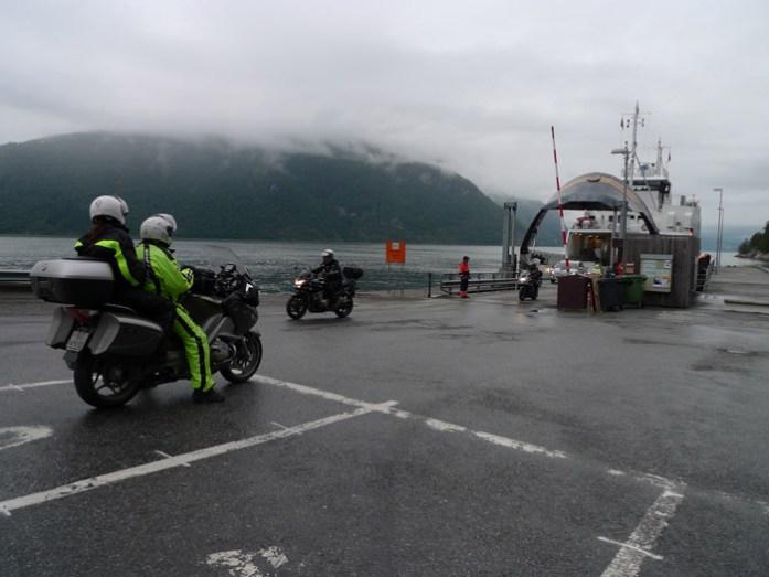 Noruega Geiranger de ferry