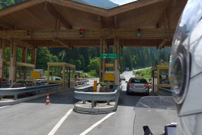 Grossglockner portagem. melhores estradas para andar de mota
