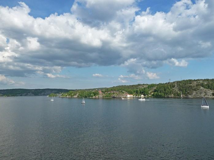 Chegada a Helsínquia no ferry da Silja Lines vindo de Estocolmo
