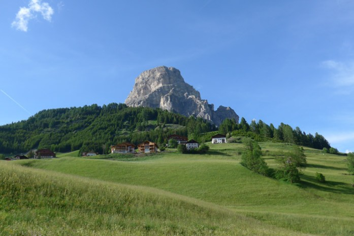 Viagem de mota nas Dolomites