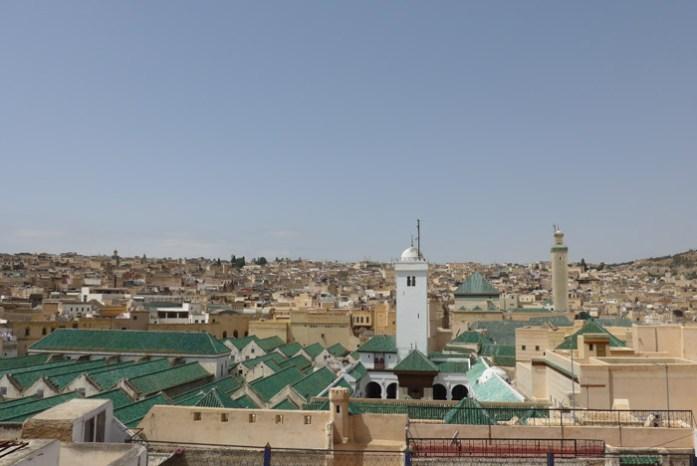 Viagem de mota a Marrocos. Na Medina de Fez