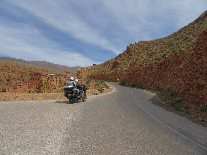 Estrada R704 Boulmane du Dadès - Gorgès du Dadès