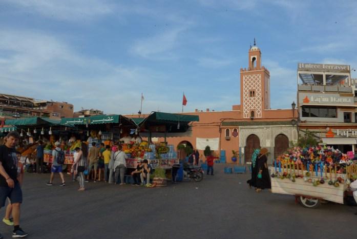 Na medina de Marraquexe