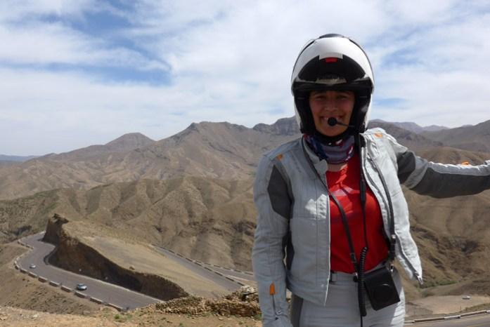 Viagem de mota a Marrocos. Tizi Tichka.Viagem de mota a Marrocos. Tizi Tichka.