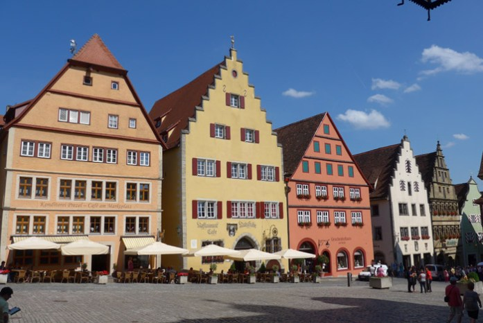 Romantic Strasse. Rothenburg ob der Tauber Alemanha