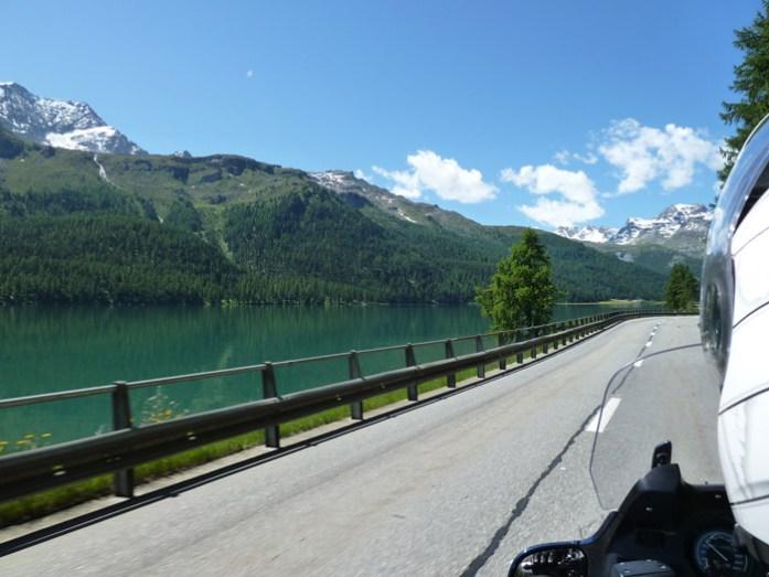 Em St Moritz. Suíça