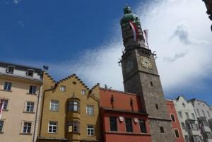 Viagem de mota na Áustria. Innsbruck