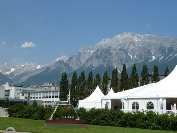 Fábrica, museu e loja da Swarovski em Wattens. Arredores de Innsbruck