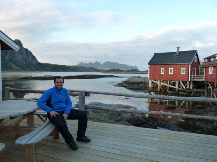 Alojamento na Noruega. Svinøya Rorbuer em Svolvaer.