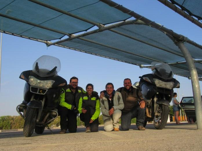 De regresso a Portugal depois de uma grande viagem de mota a Marrocos