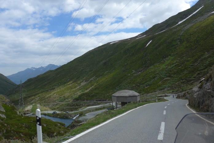 Nos Alpes Suíços no Col du Grand Saint Bernard