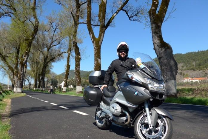 De mota na Estrada N246-1 entre Portagem e Marvão.