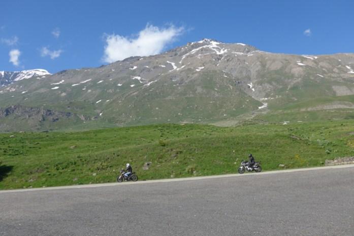 Nos Alpes Franceses no Col du Mont Cenis
