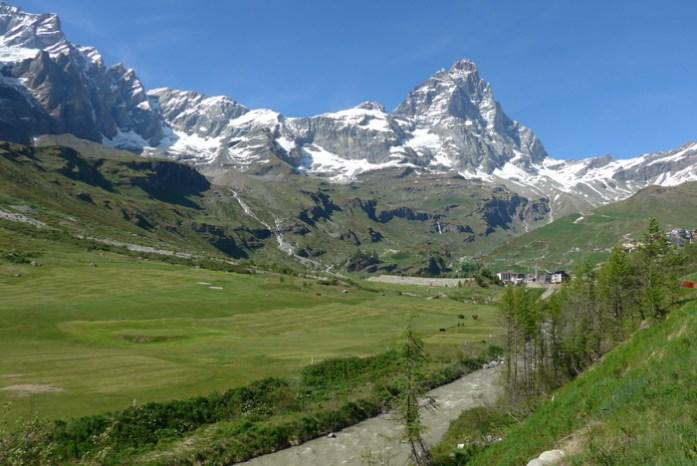 Em Vale D'Aosta. Alpes Italianos