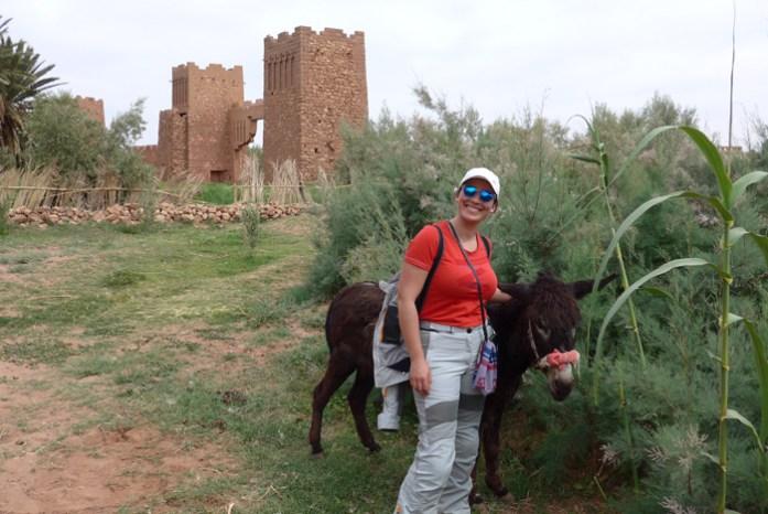 Viagem de mota a Marrocos. De Marrakech a Ouarzazate.