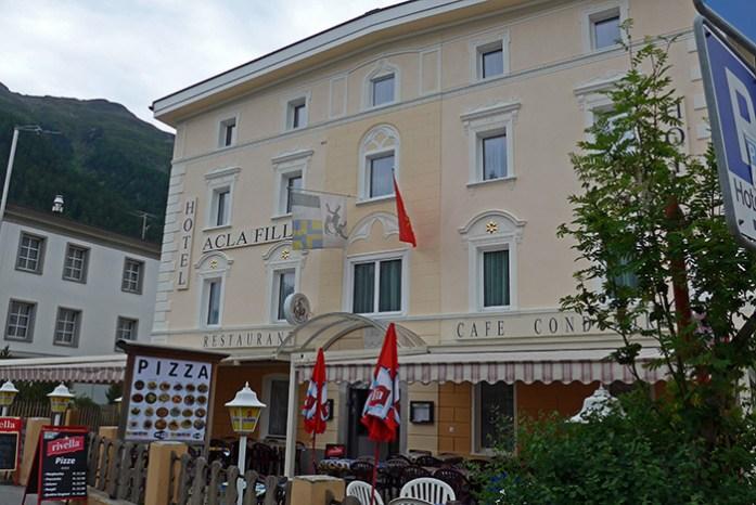 Restaurante em Zernez Acla Fili.