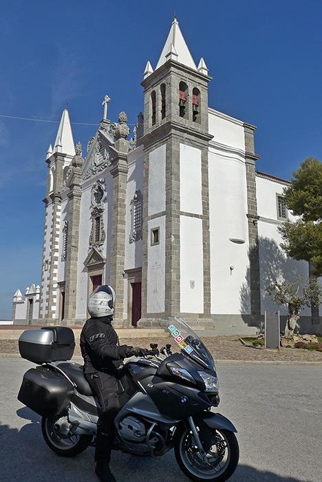 Igreja Salvador de Alcáçovas. Estrada N2