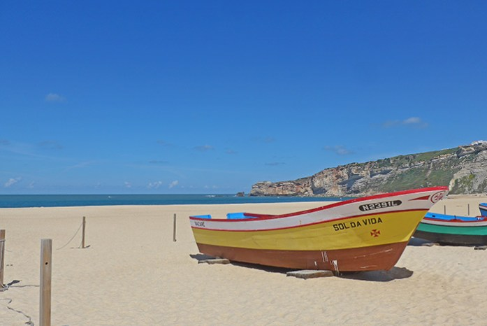 Praia da Nazaré. Estrada Atlântica