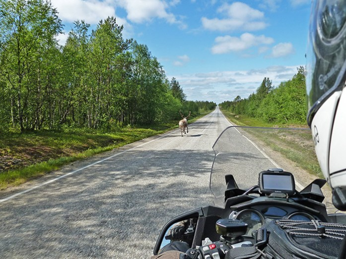 Estrada E6 Noruega.