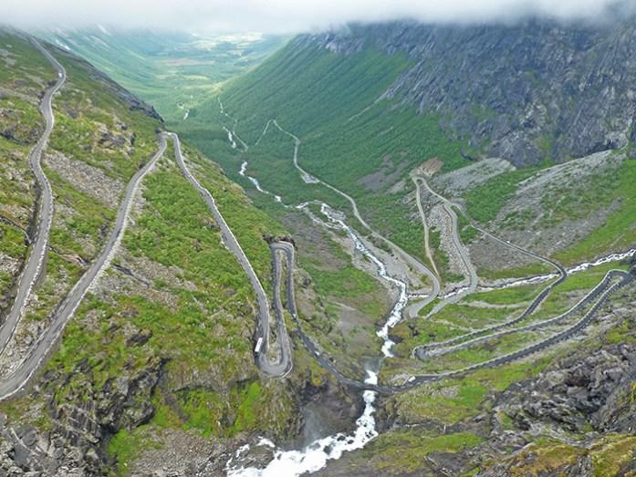 Top 3 de melhores estradas da Europa: Trollstigen, Åndalsnes, Noruega