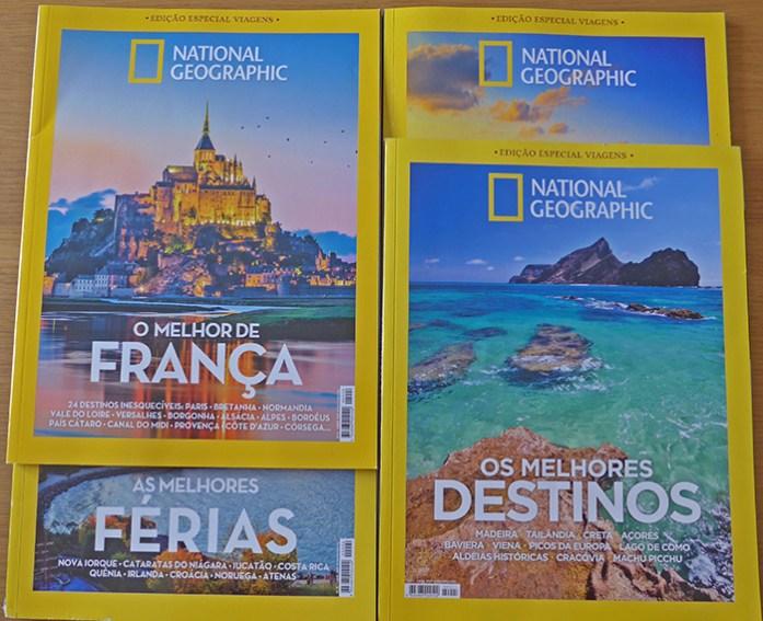 Edições Especial Viagens da Revista National Geographic