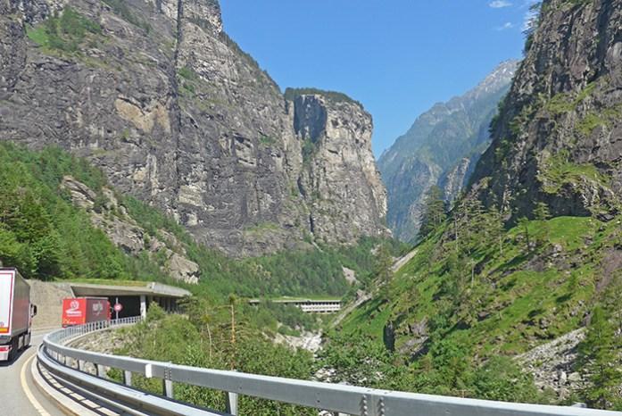 Desfiladeiro de Gondor. Simplon Pass.
