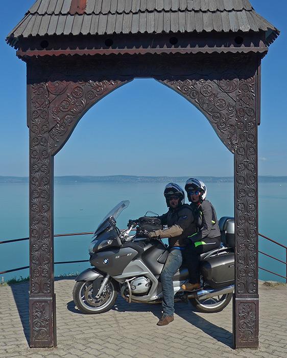 Balatonvilágos, Lago Balaton, Hungria