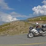 Viagem de mota à Roménia. Em Transalpina.