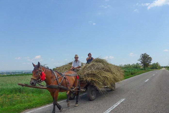 Viagem de mota à Roménia