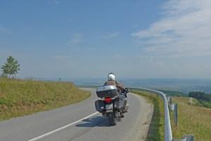 Jina, Transilvânia, Viagem de mota à Roménia